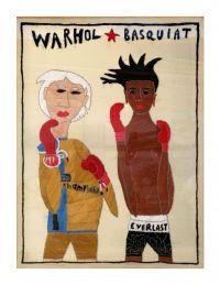 FLUX23   Rohullah Kazimi   Warhol Basquiat   Stickbild   Foto DieSchlumper