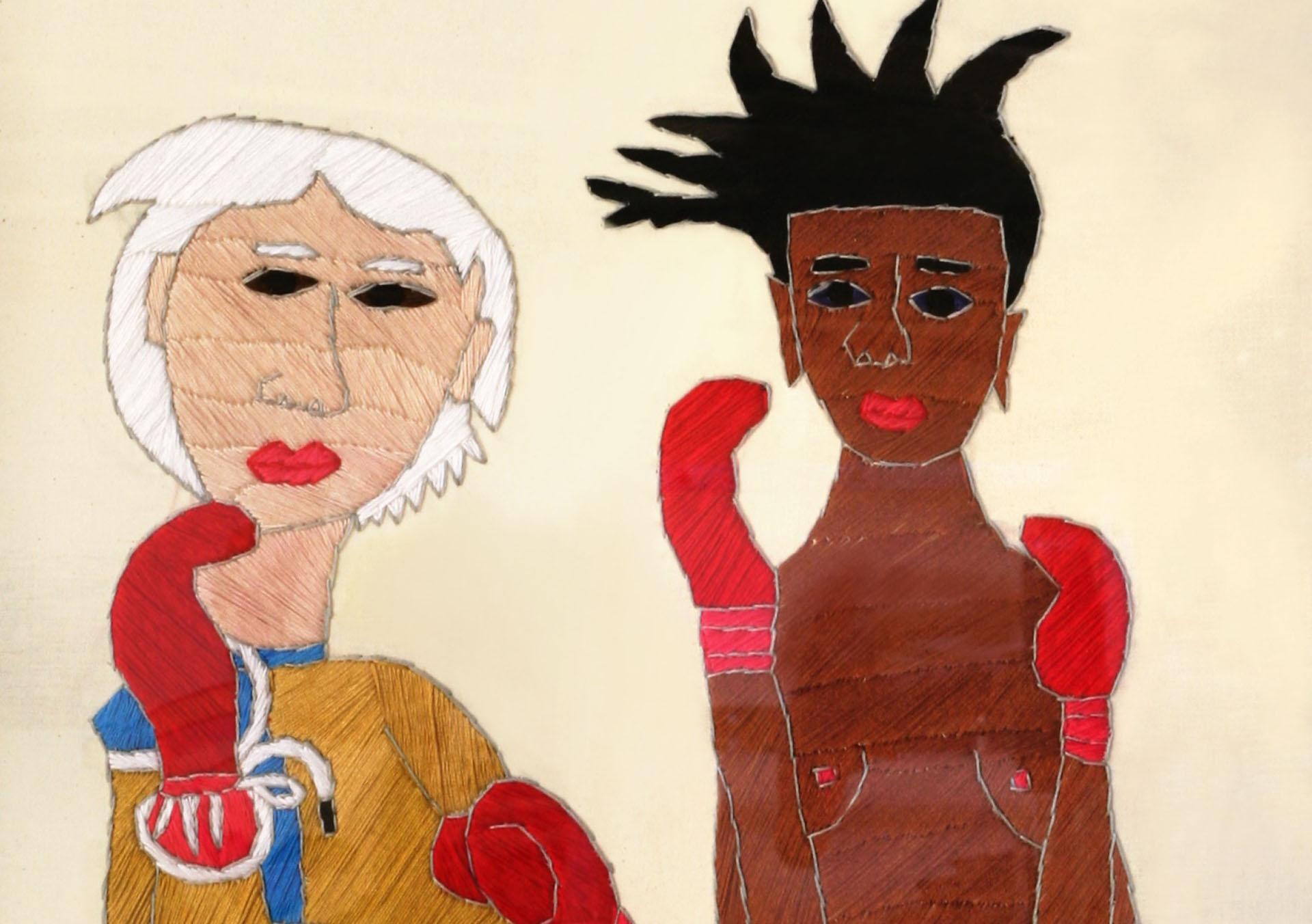 FLUX23 | Rohullah Kazimi | Warhol-Basquiat