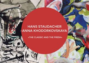 Galerie3 | Hans Staudacher | Anna Khodorkovskaya | THE CLASSIC AND THE FRESH | Sujet Einladung
