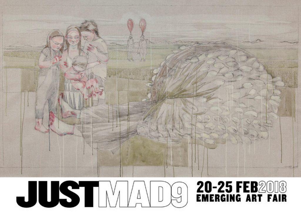 Sujet JustMad | Galerie3 Flux23 | 2018 | Maria Legat | Foto Sandra Kosel